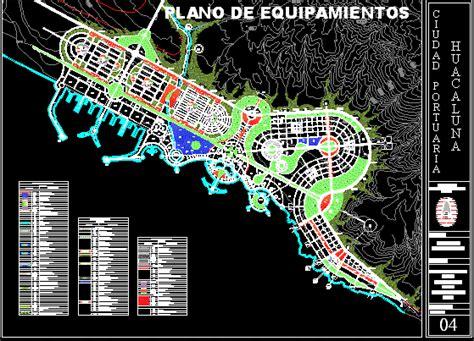 port city dwg block  autocad designs cad