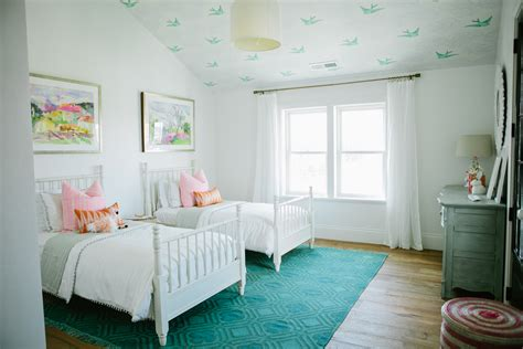 The Modern Farmhouse Project Girl's Bedroom