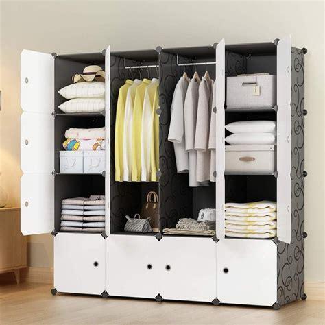 kousi portable closet organizer portable closet