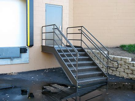 Commercial Building Railing Codes Stair Rail Height
