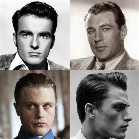 vintage  hairstyles  men mens hairstyles
