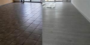 Kann Man Fliesen überstreichen : vinylboden auf alten fliesen verlegen bodengestaltung ~ Markanthonyermac.com Haus und Dekorationen