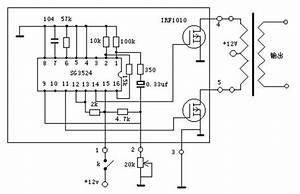 inverter circuit using ic sg3524 With scrap heap circuit diagram also 12v to 220v inverter circuit diagram