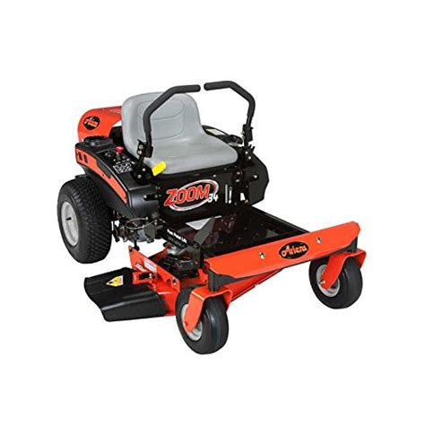 zero turn mower lawn mowers ariens 34 zoom riding hp twin series kohler money cutting hills plow engine snow 19hp