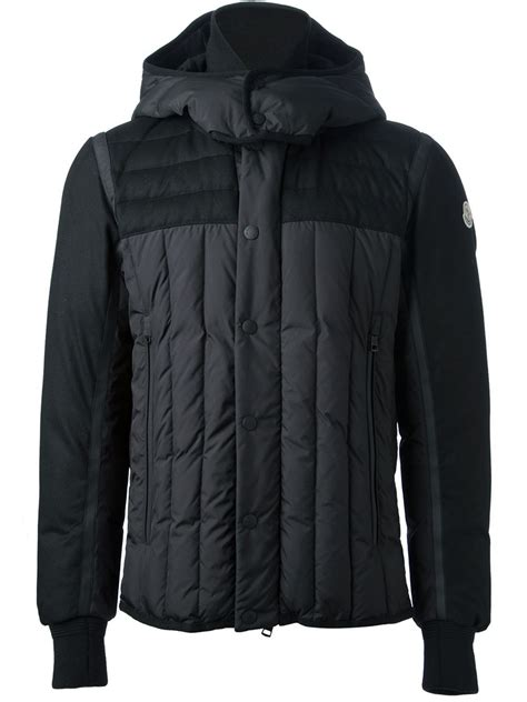 Jacket For by Moncler Jacket In Black For Lyst