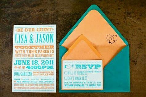 wedding invitation fontlayout orange wedding