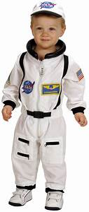 NASA Jr. Astronaut Suit White Toddler Costume - PartyBell.com