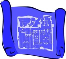 free house blueprints blueprint clipart free clip free clip