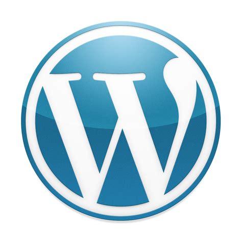 Classic Blue Wordpress Logo  Halfblognet