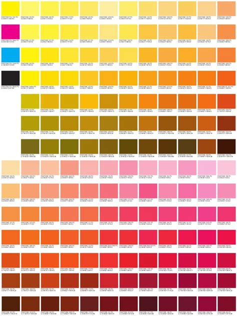 computer color codes cmyk color code charts my