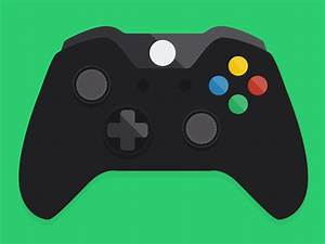 Flat Xbox One Controller Icon | Xbox and Icons