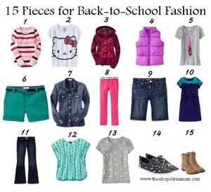 Kids Back to School Fashion