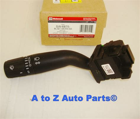 2011 2012 2013 ford f 150 turn signal multi function wiper lever switch new oem ebay new 2011 2014 ford f 150 turn signal or multi function switch oem ford ebay