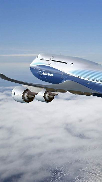 Boeing 747 Iphone Plane 3wallpapers Wallpapers Plus