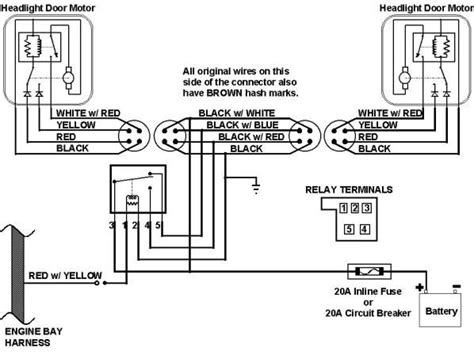 2013 Chevy Camaro Wiring Diagram by 67 Camaro Headlight Wiring Harness Schematic This Is The