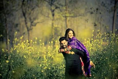 Punjabi Couple Sweet Shoot Lover Romantic Pre