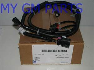 Tahoe Yukon Suburban Back Up Object Sensor Wiring Harness