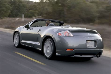 2007 Mitsubishi Eclipse Spyder Gt by 2007 Mitsubishi Eclipse Pictures Photos Gallery Green
