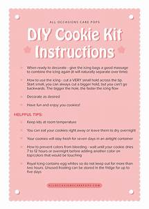Diy Cookie Instructions On Behance