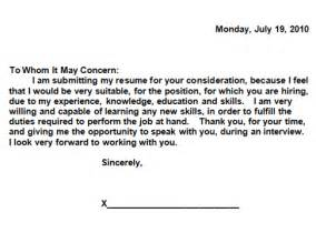 do you really need a cover letter and what should it say