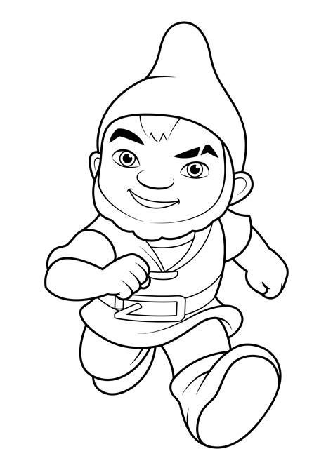 sherlock gnomes coloring pages    print