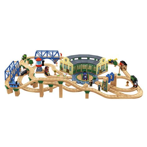 tidmouth sheds deluxe set friends wooden railway series tidmouth sheds