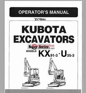 Kubota Excavators Kx91