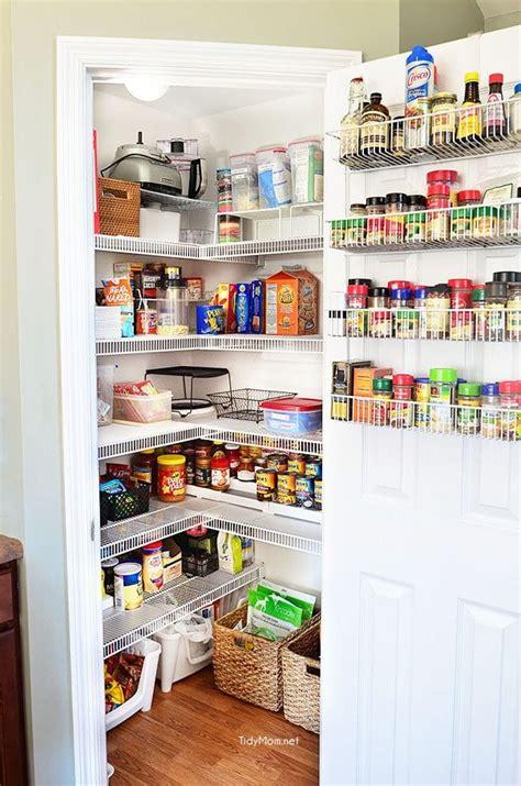 kitchen storage pantry real pantry organization tidymom 174 3169