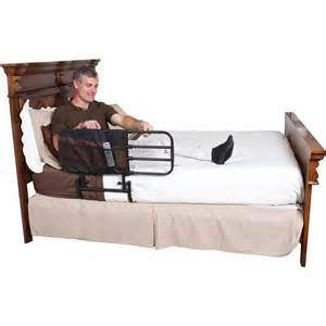 stander ez adjust home bed rail length adjustable and