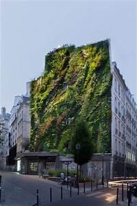 Le Sentier Paris : a paris un mur v g tal transforme le quartier du sentier ~ Melissatoandfro.com Idées de Décoration