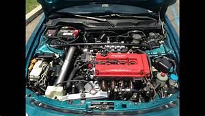 1994 Acura Integra Gsr Motor Rebuild Apexi Ws2 Sound Clip
