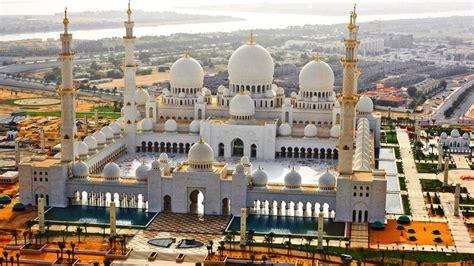 Abu Dhabi Mosque Wallpaper by Abu Dhabi Sheikh Zayed Grand Mosque United Arab Emirates