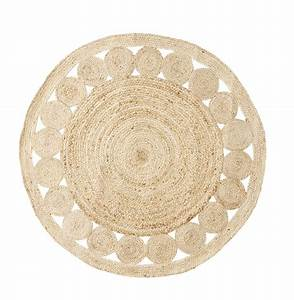 tapis naturel rond idees d39images a la maison With tapis rond naturel