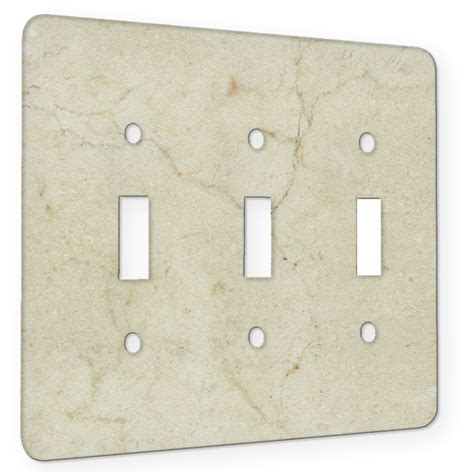 marble switch plates marble crema marfil 3 gang switch plate elements of space