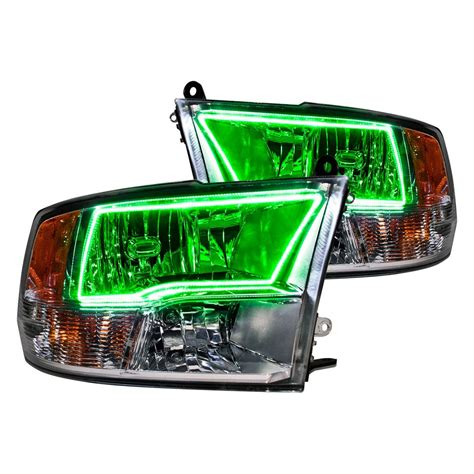 oracle halo lights oracle lighting 174 ram 2500 with sport package 2012 chrome