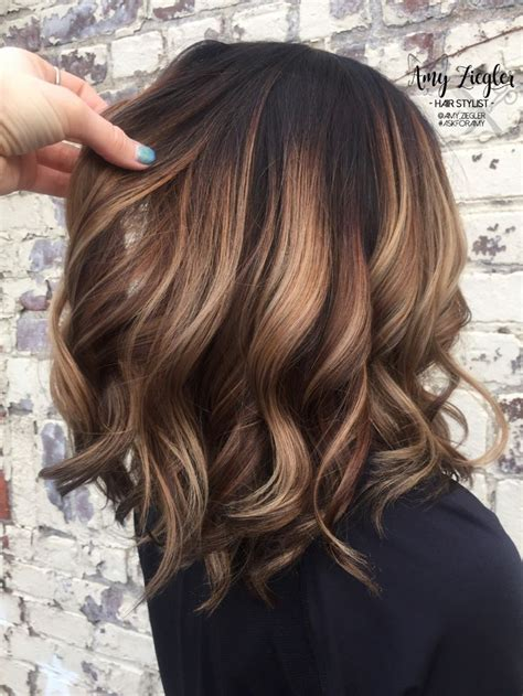brunette hair colors ideas  pinterest