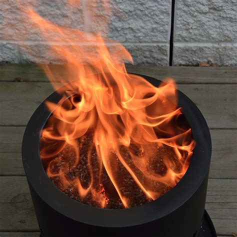 For the most part, they all boil down to digging two adjoining holes. Smokeless Wood Pellet Fire Pit - Pellet Fire Pit