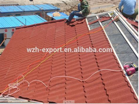 coated roof tiles price in philippines metal