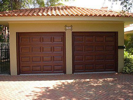How To Paint A Metal Garage Door by Everything I Create Paint Garage Doors To Look Like Wood