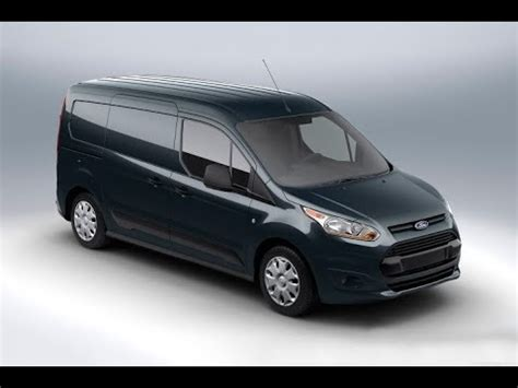 ford transit connect van specs  review youtube