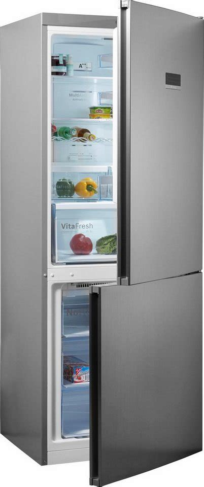 kühlschrank 70 cm hoch bosch k 252 hl gefrierkombination kgn46xl40 186 cm hoch 70