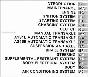 1995 Toyota Corolla Repair Shop Manual Original