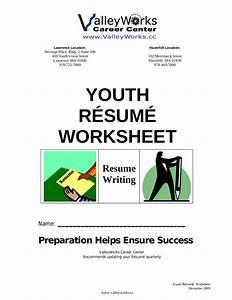 10  Resume Worksheet Examples In Pdf