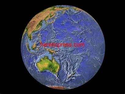 Earth Above Below Terrain Sea Maps Plates
