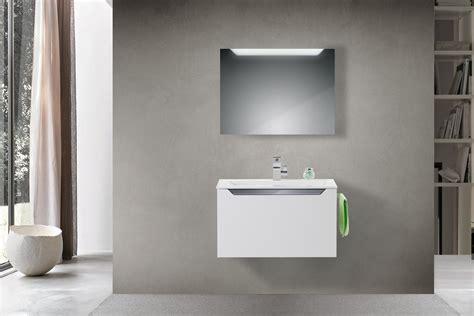 badmöbel set 80 cm waschtisch mit spiegelschrank 80 cm marlin idea badm bel set mit 80 cm keramik waschtisch led