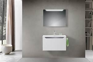 Waschtisch Mit Spiegelschrank 80 Cm : angenehme 80cm einzelwaschtische ~ Markanthonyermac.com Haus und Dekorationen