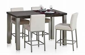 Table Haute Hauteur 90