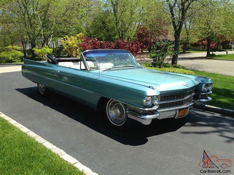 Cadillac Coupe Deville Convertible Light Blue