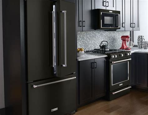 appeal  black stainless steel appliances consumer