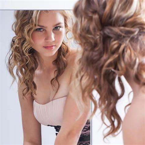 ideas  thin curly hair  pinterest fine